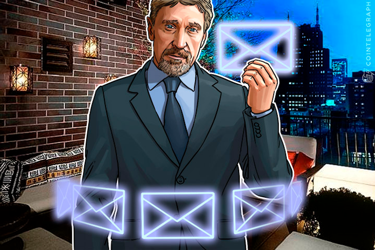 John McAfee to Make Email Systems Great Again With Blockchain