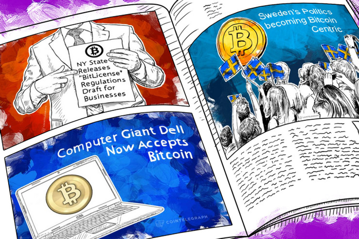 Weekend Roundup: Grooveshark Accepts Bitcoin, Mintpal Hacked, and New York Rolls Out Plans for BitLicenses