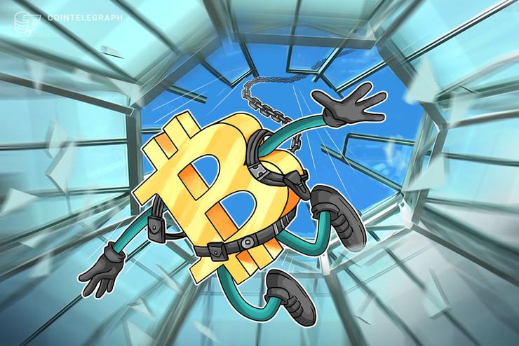 【速報】ビットコイン急落、5分で650ドル吹き飛ぶ|ビットメックスで巨額のロング清算【仮想通貨相場】
