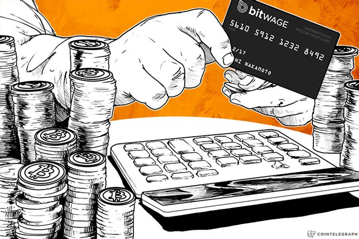 Bitwage and Xapo Announce First International Bitcoin Payroll Debit Card