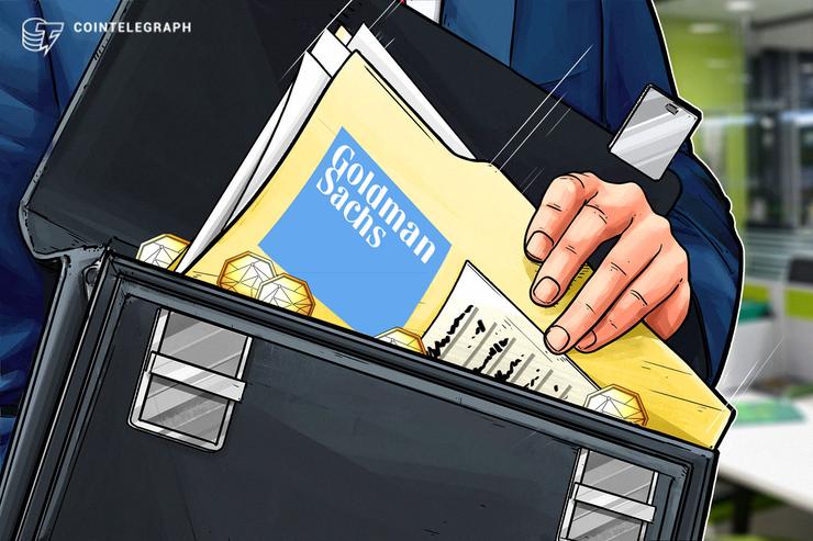 Goldman Sachs explora criptoderivados, dice COO