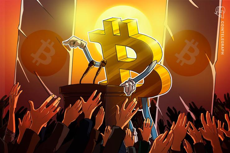 【速報】仮想通貨ビットコイン、今度は100万円突破