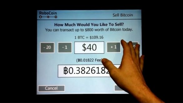 First Bitcoin ATM processed 348 transactions in 8 days