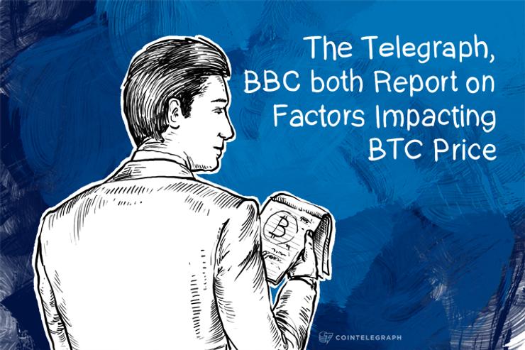The Telegraph, BBC both Report on Factors Impacting BTC Price