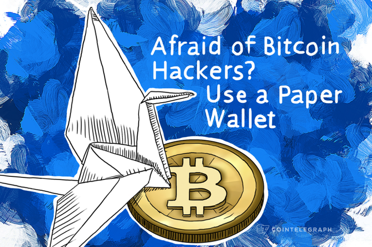 Afraid of Bitcoin Hackers? Use a Paper Wallet