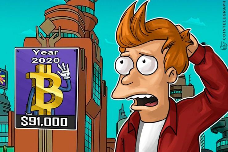 Tom Lee prevede che Bitcoin arrivi a 90.000$ entro marzo 2020, basandosi sulle performance dei cali passati