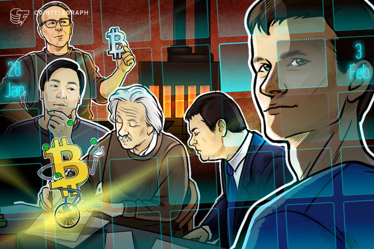 Hodler's Digest, Jan. 28 – Feb. 3: Top Stories, Price Movements, Quotes and FUD of the Week
