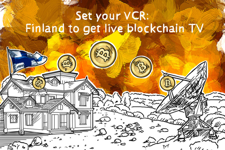Set your VCR: Finland to get live blockchain TV