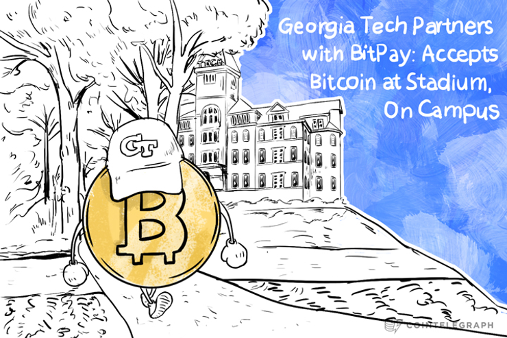 Georgia Tech Partners with BitPay: Accepts Bitcoin at Stadium, On Campus
