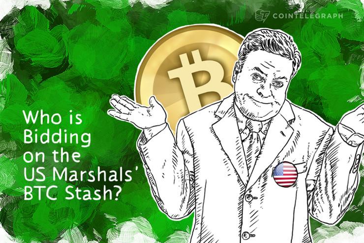 Who is Bidding on the US Marshals' BTC Stash?