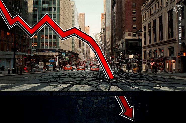 سعر بيتكوين يفشل في الاحتفاظ بعلامات الانتعاش لينخفض إلى ما دون ٧,٩ آلاف دولار