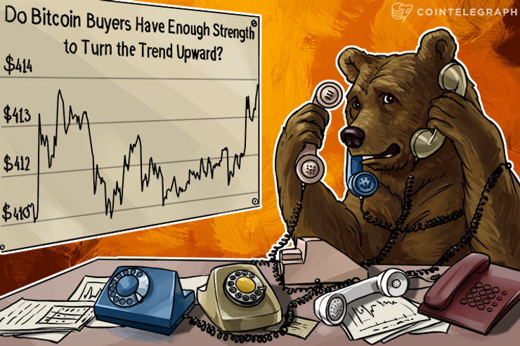 Do Bitcoin Buyers Have Enough Strength to Turn the Trend Upward?