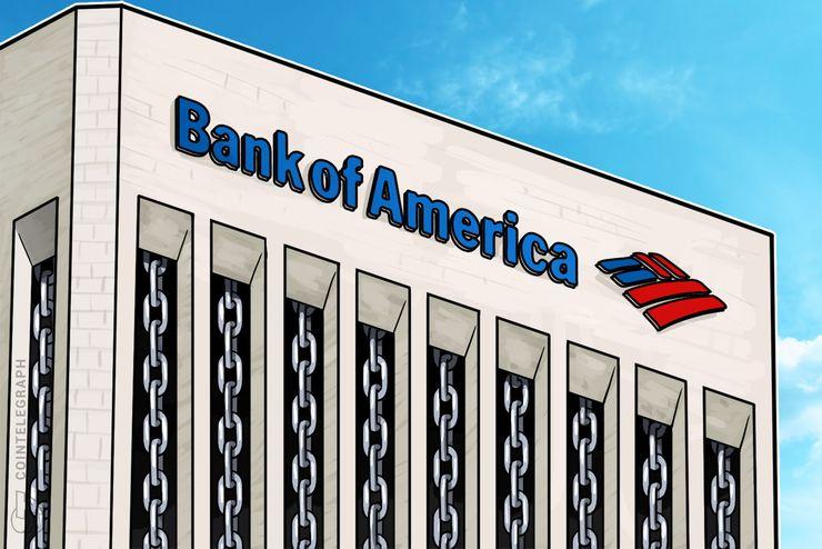 La Bank of America svela un brevetto per un sistema di convalida dei dati basato su tecnologia blockchain