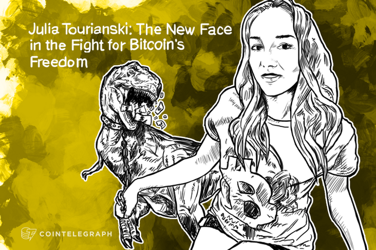 Julia Tourianski: The New Face in the Fight for Bitcoin's Freedom