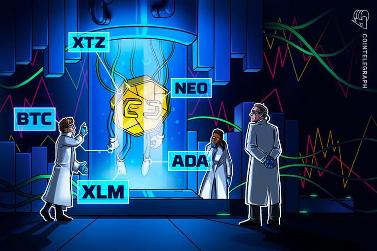Las 5 principales criptomonedas para observar esta semana: BTC, XTZ, XLM, ADA, NEO