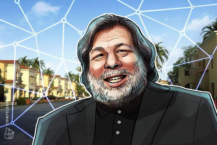 """Apples Steve Wozniak zum ersten Mal in Blockchain-Unternehmen """"involviert"""""""