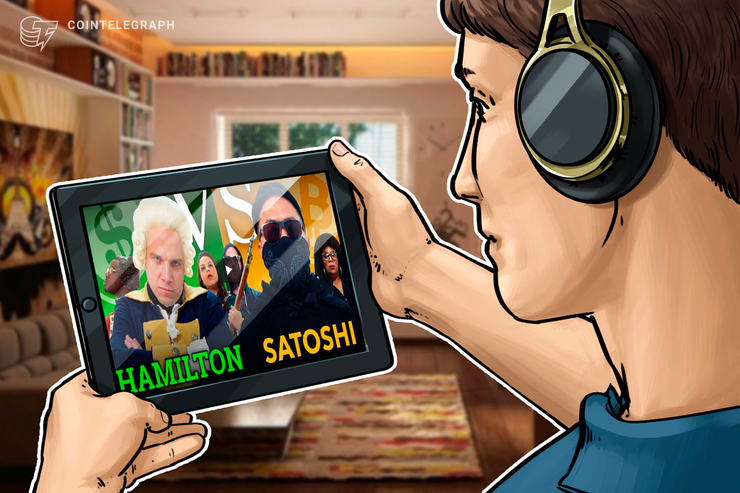Co-fundador do LinkedIn apresenta vídeo 'Crypto Rap': Hamilton vs. Satoshi