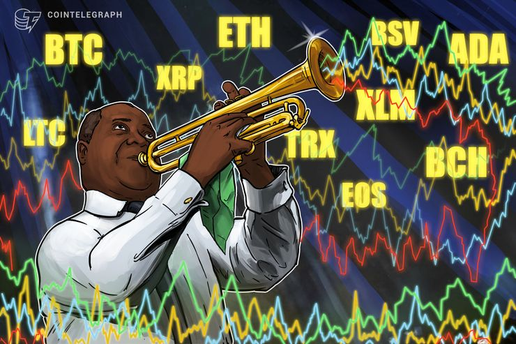 Bitcoin, Ripple, Ethereum, EOS, Bitcoin Cash, Litecoin, Tron, Stellar, Bitcoin SV, Cardano: Price Analysis, Feb. 1