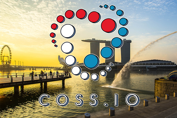 A Singapore-based Startup COSS Ranked the Highest in ICO Rating History
