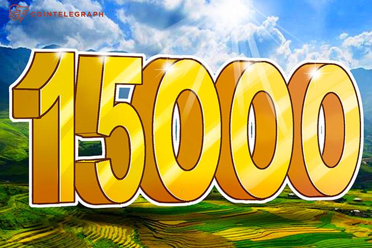 Another Day, Another Thousand Dollars: Bitcoin Hits $15k