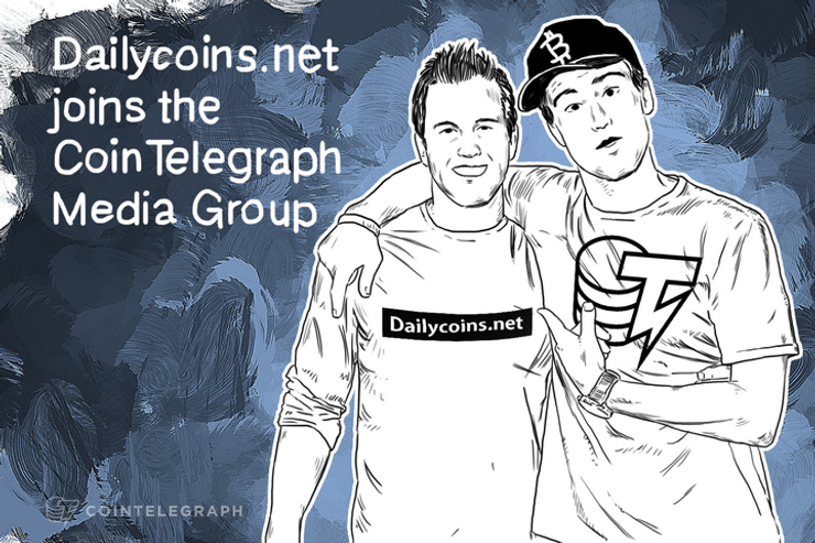 Dailycoins.net joins the Cointelegraph Media Group