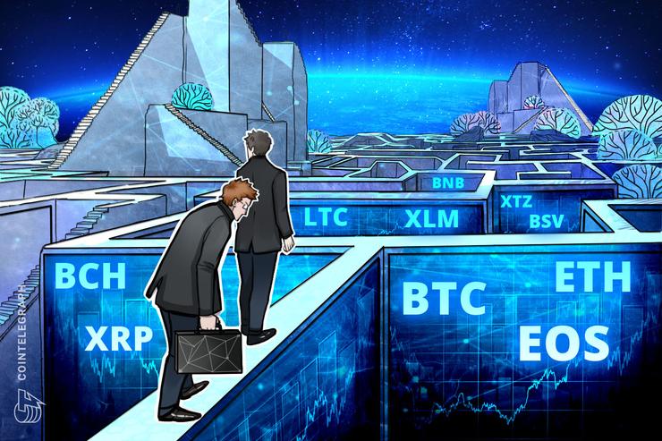 6,500ドルのサポート死守が焦点 仮想通貨ビットコイン・イーサ・XRP(リップル)のテクニカル分析【価格予想】