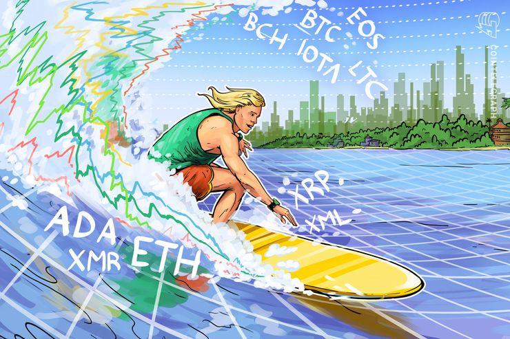 Bitcoin, Ethereum, Ripple, Bitcoin Cash, EOS, Stellar, Litecoin, Cardano, Monero, IOTA: Price Analysis, August 24