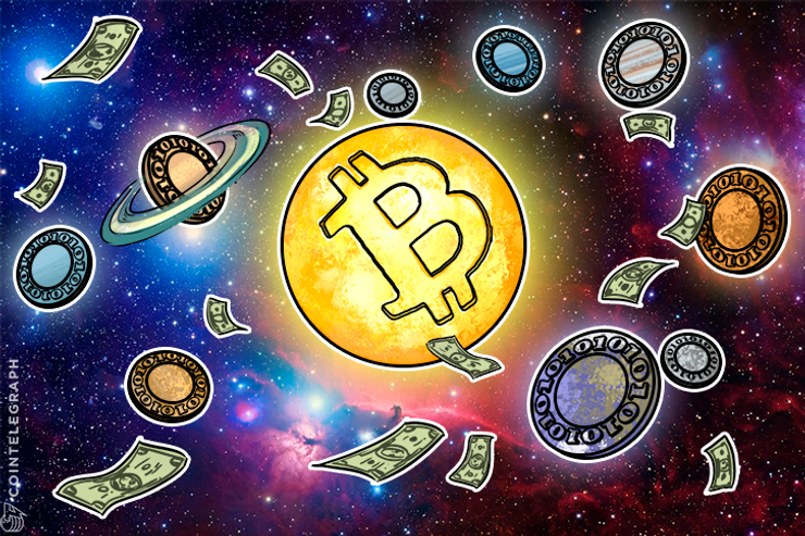 With Altcoins Diving, Bitcoin Helps Crypto Market Sustain $200 Bln Cap
