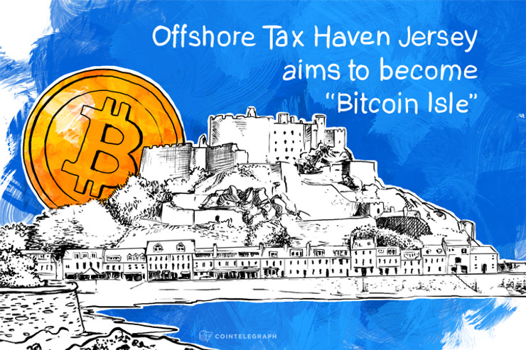 """Offshore Tax Haven Jersey aims to become """"Bitcoin Isle"""""""