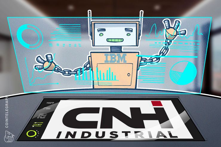 Capital Goods Giant CNH Industrial Partners With IBM on Long-Term Blockchain Upgrade