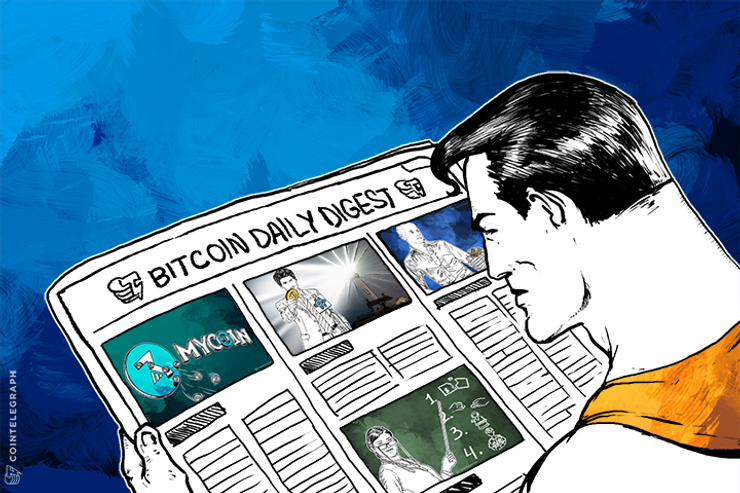 Daily Digest: MyCoin loses $387 million, Antonopoulos 'Gives Bitcoin 2 years' and more