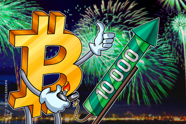 Bitcoin Breaks $10,000 for First Time Since March 2018
