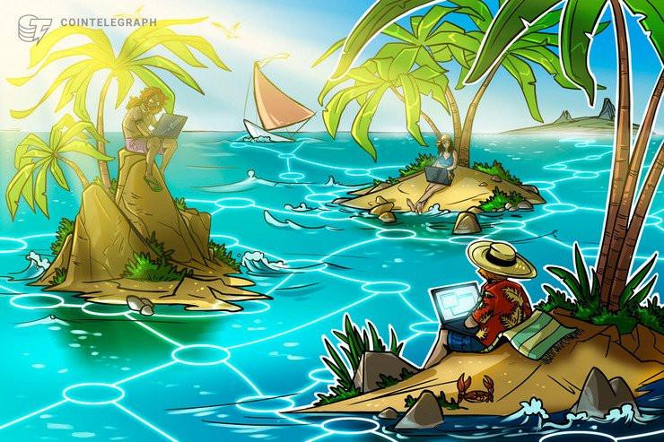 """Una pequeña isla del Caribe se convierte en un """"paraíso"""" para portales web de criptomonedas, inteligencia artificial y tecnología en general"""