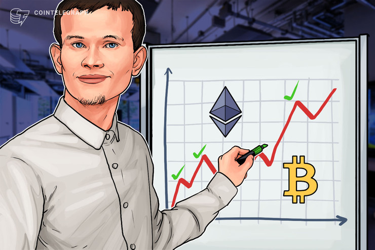 """Vitalik Buterin: l'assenza di un ponte Bitcoin-Ethereum è """"imbarazzante"""""""