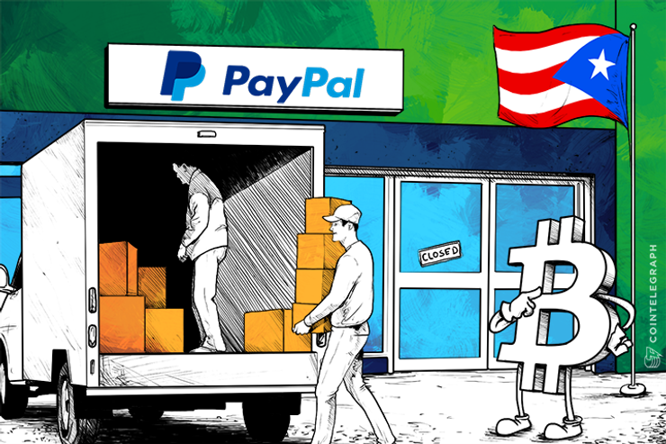 PayPal Pulls Out of Puerto Rico; Huge Opening for Bitcoin