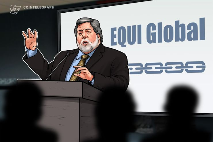 Steve Wozniak di Apple è uno dei cofondatori di EQUI Global, fondo di venture capital che investe in tecnologie blockchain