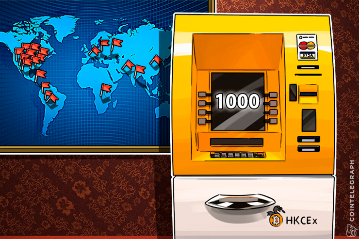 Another Bitcoin Record: Over 1000 Bitcoin ATMs Installed Globally
