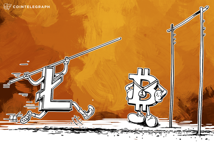 Litecoin Trading Volume Is on the Verge of Overtaking Bitcoin
