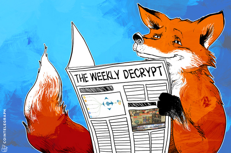 The Weekly Decrypt: Tipping, Topping & 16 Coins Rocking