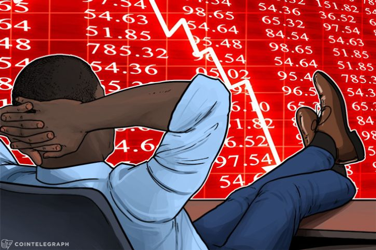 'Healthy Dip?' Bitcoin Rediscovers $12,850, Altcoins Shed Up To 40%