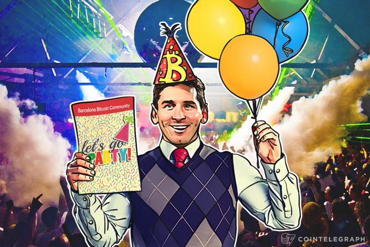 July 10 Barcelona Bitcoin Community Throws Halving Party