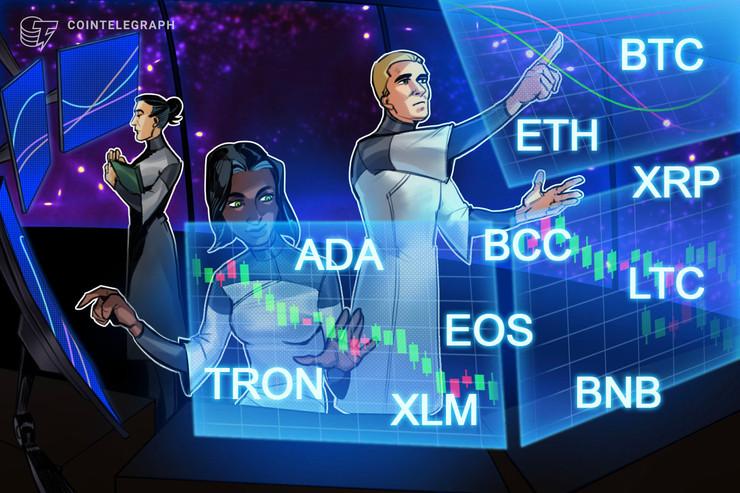 強気派の自信の表れか 仮想通貨ビットコイン・イーサリアム・リップル(XRP)のテクニカル分析