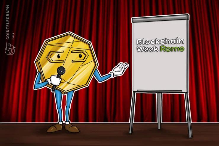 Blockchain Week Rome: uno sconto fino al 50% per chi acquista i biglietti con criptovalute