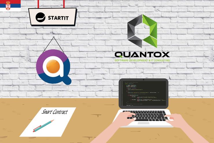 Quantox blokčein radionica u Startit Centru