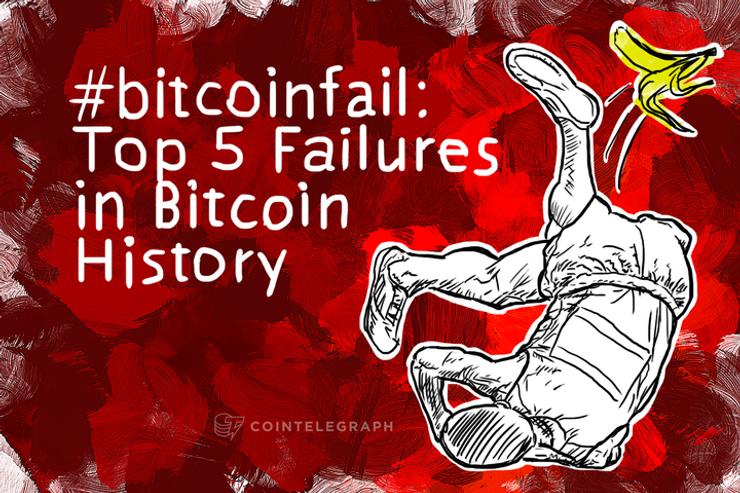 Top 5 Failures in Bitcoin History