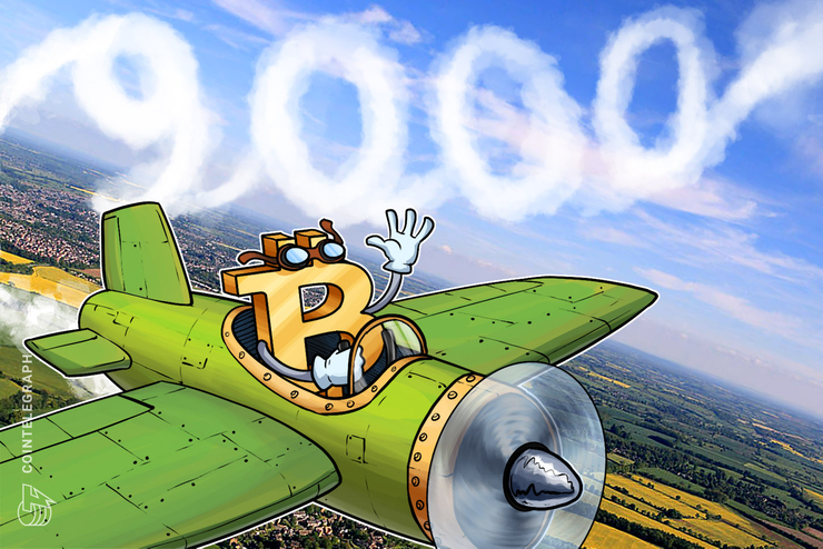 Bitcoin Breaks $9,000 In Latest Landmark Price Point