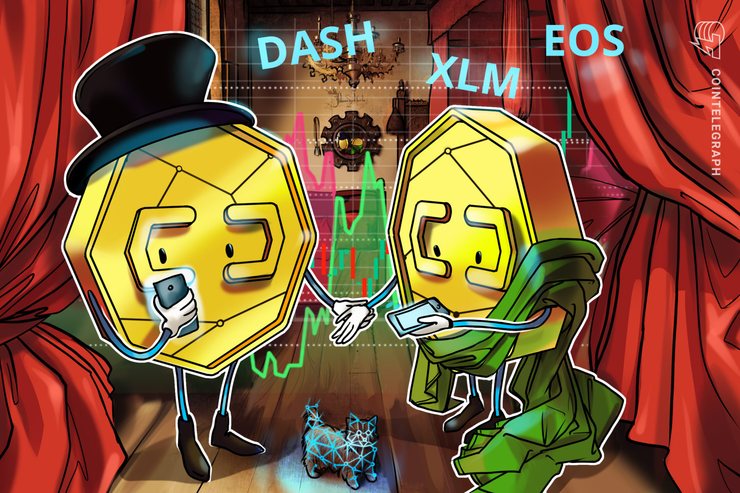 DASH, XLM, EOS: Top-3 Crypto Losers of the Week — Price Analysis