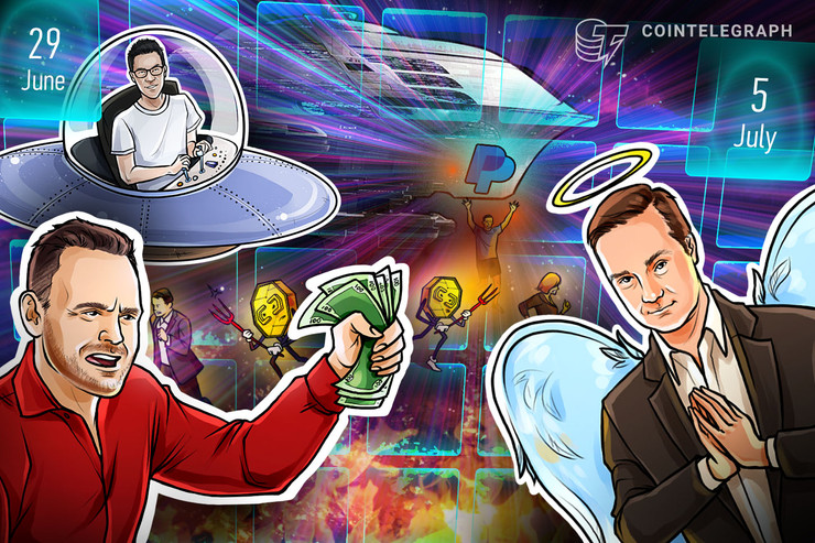 cointelegraph.com - Thomas Simms - Bitcoin Stagnates, Criminals Targeted, $288K Prediction: Hodler's Digest, June 29-July 5