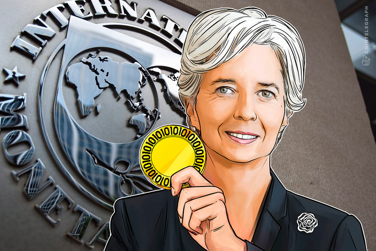 IMFのラガルド専務理事、仮想通貨には「プラスの可能性」