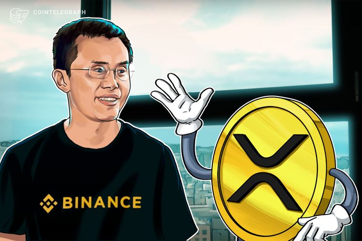 Binance quer parceria futura com o xRapid, do Ripple, revela CEO da exchange